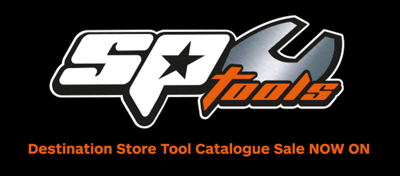 SP Tools Destination Store Tool Catalogue sale now on!