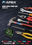 Apex Hand Tools Product Catalogue 2016